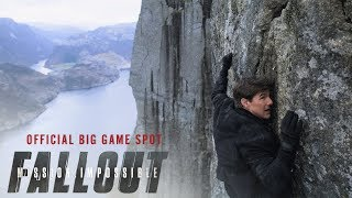 The official Mission: Impossible - Fallout big game spot. Watch the...