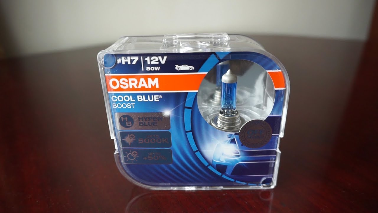 duobox 62211CBB-HCB OSRAM COOL BLUE BOOST H11 12 V passenger car 2 units halogen headlight lamp