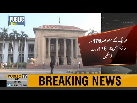 PTI Wins On Constituencies Won By PML-N In Punjab Senate Elections