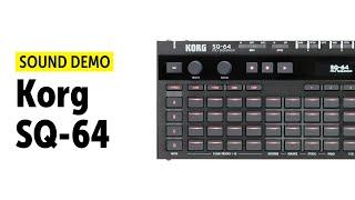 KORG SQ-64 Sequencer Demo (No Talking)