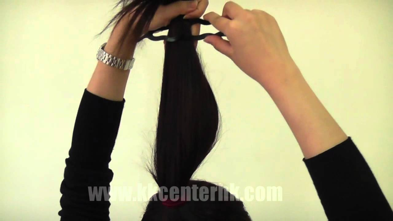 Magic Twist Hair Styling Bun Maker By Kkcenterhk Youtube