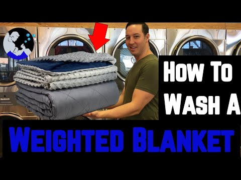 How To Wash & Dry A Weighted Blanket
