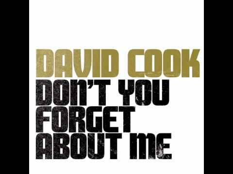 David Cook- Don't You (Forget About Me)