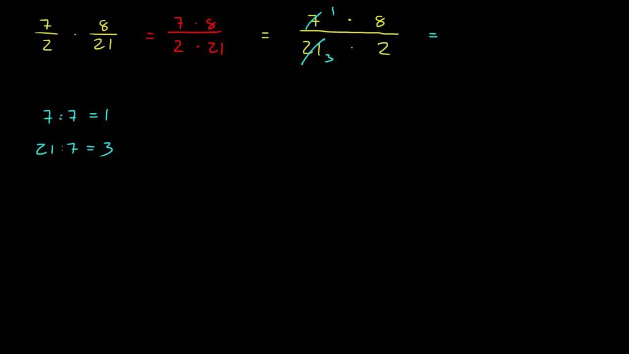 Brøkregning 3.5 - Nyttig triks for multiplikasjon