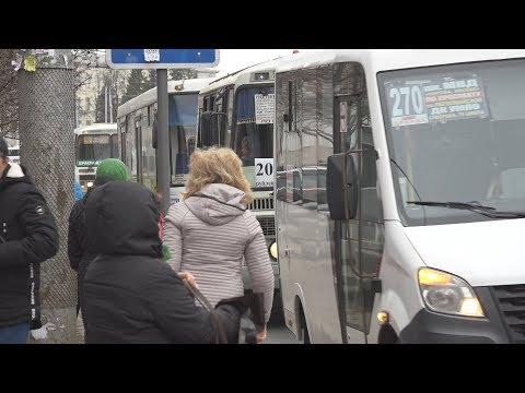 """UTV. Транспортный коллапс. В Уфе """"нелегальные"""" автобусы не вышли на маршруты"""