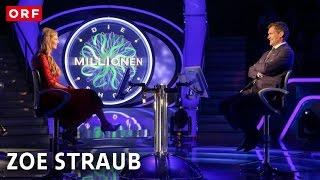 Zoe Straub bei der Promi-Millionenshow | ORF 2