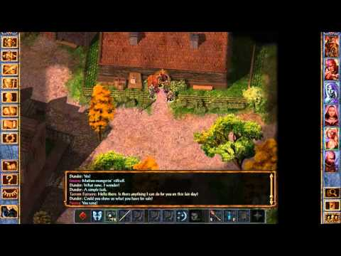 Let's Play Baldur's Gate Dwarf Berserker Part 16 |