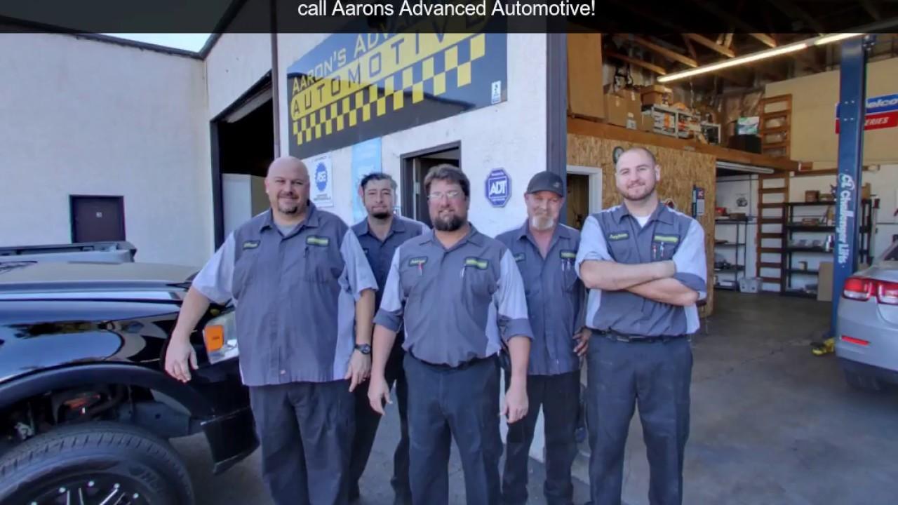 Aaron's Advanced Automotive | Grover Beach, CA | Auto ...