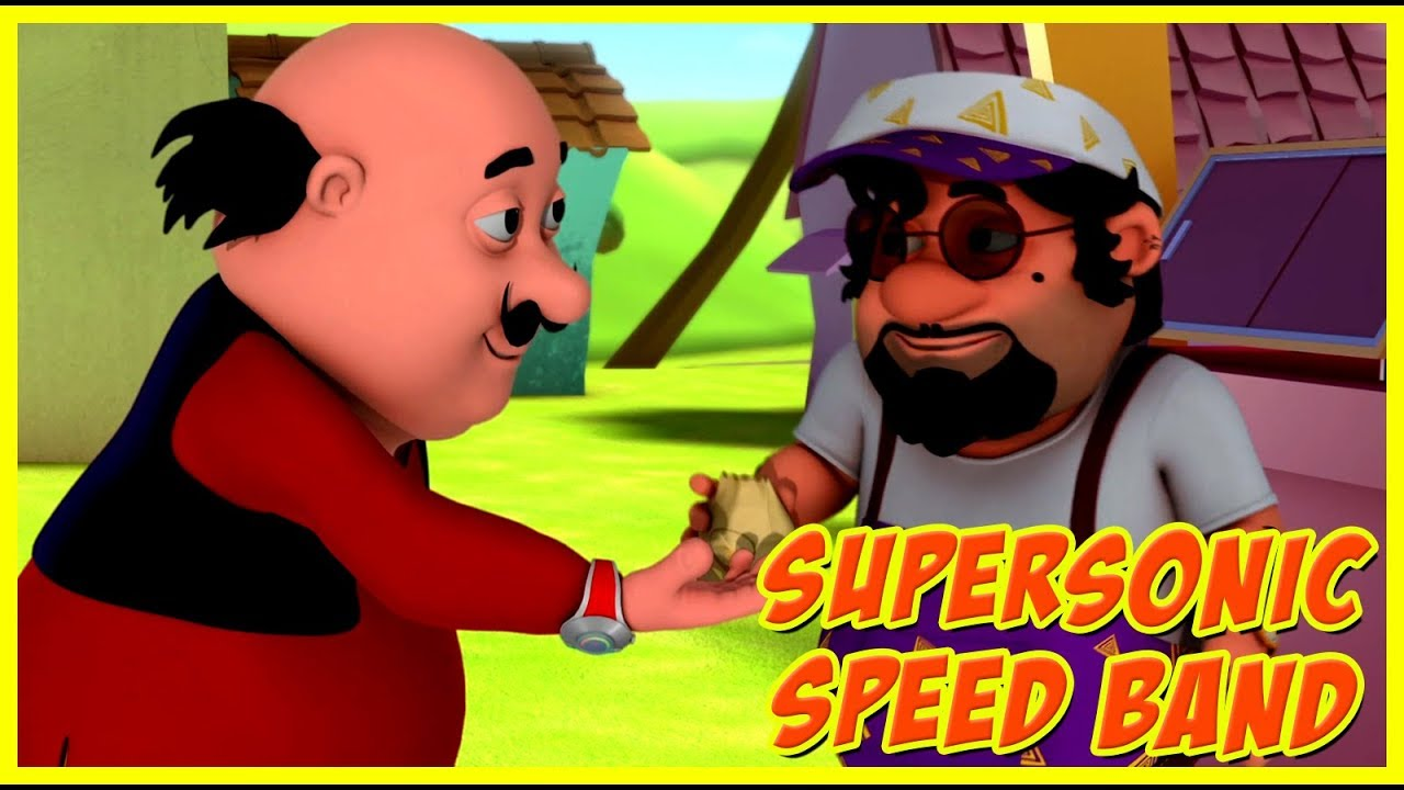 Motu Patlu Supersonic Speed Band Motu Patlu In Hindi Youtube