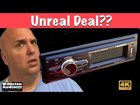 Is A $10 Walmart Car Stereo Any Good? [4K]