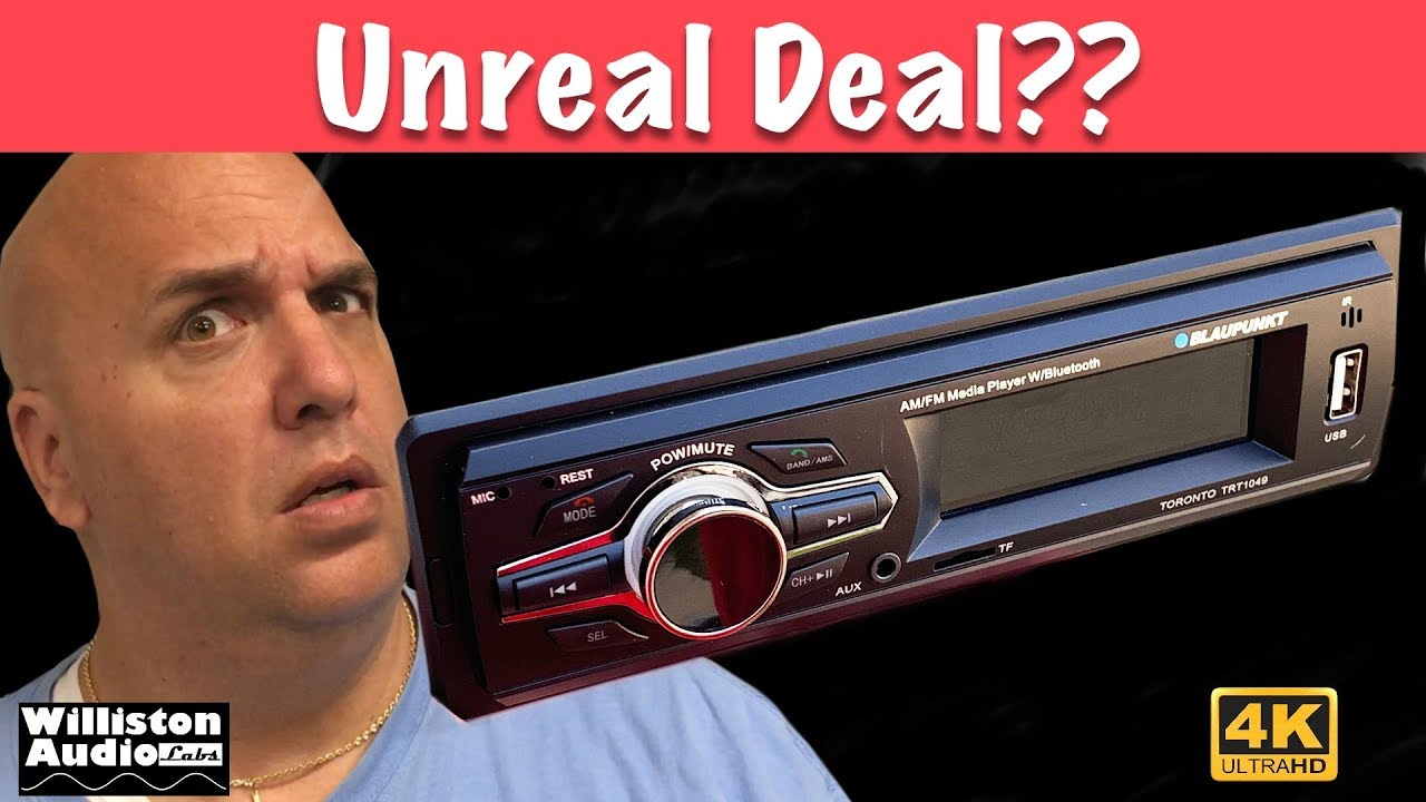 Is A 10 Walmart Car Stereo Any Good 4k Youtube
