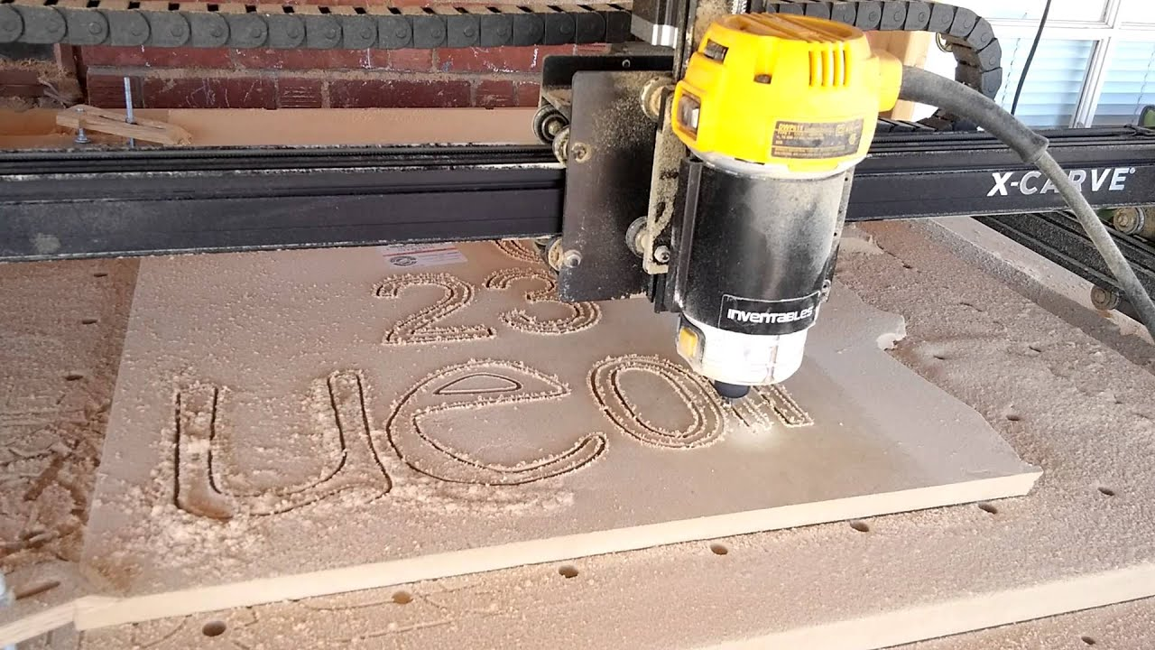 Xcarve dewalt 611 mdf5 thickness youtube xcarve dewalt 611 mdf5 thickness greentooth Image collections
