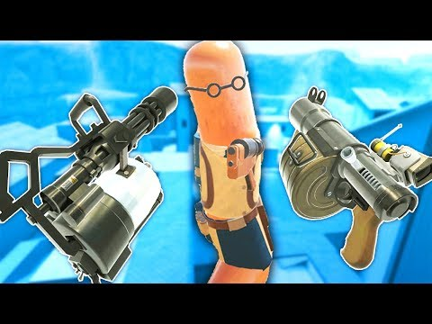 *NEW* MEAT FORTRESS UPDATE (Team Fortress 2) In Hot Dogs Horseshoes & Hand Grenades VR