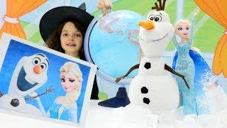 Эльза и Олаф в Антарктиде. Маленькая Ведьмочка Кати - Мультики для девочек