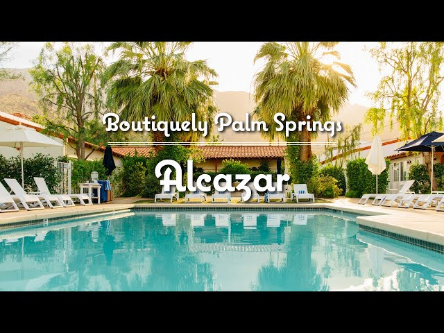 Alcazar Palm Springs Hotel Video Tour