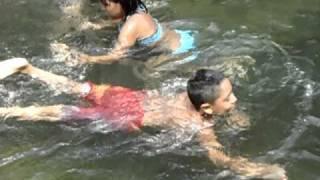 El homie  en  el rio de tancoco veracruz.