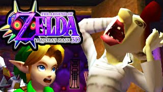 The Legend of Zelda Majora's Mask 3DS Gameplay Walkthrough Ikana Canyon Gibdo Well PART 24 Nintendo
