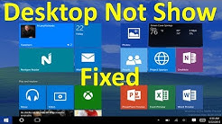 How to Fix Windows 10 Desktop Icons Missing | showing different things