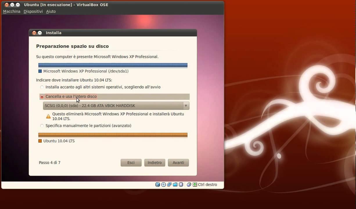 intero sito ubuntu