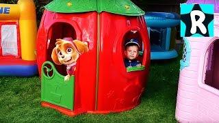 Щенячий Патруль ПРЕВРАЩЕНИЕ PAW Patrol все серии подряд Видео для Детей Малышей Игры Щенячий Патруль