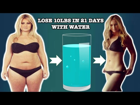 How to lose weight fast by drinking water – 100% effective
