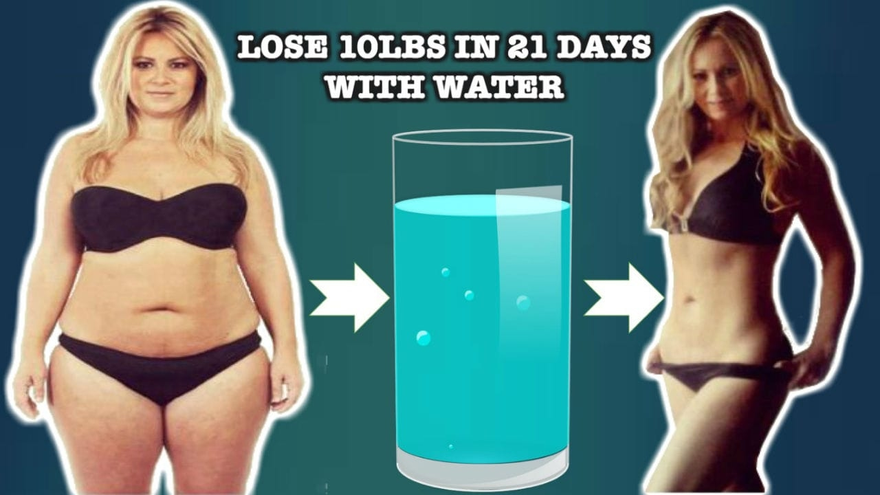 lose water weight fast ehow