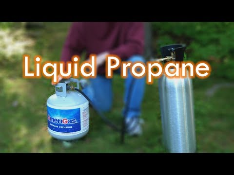 Liquid Propane - How To Transfer Safely