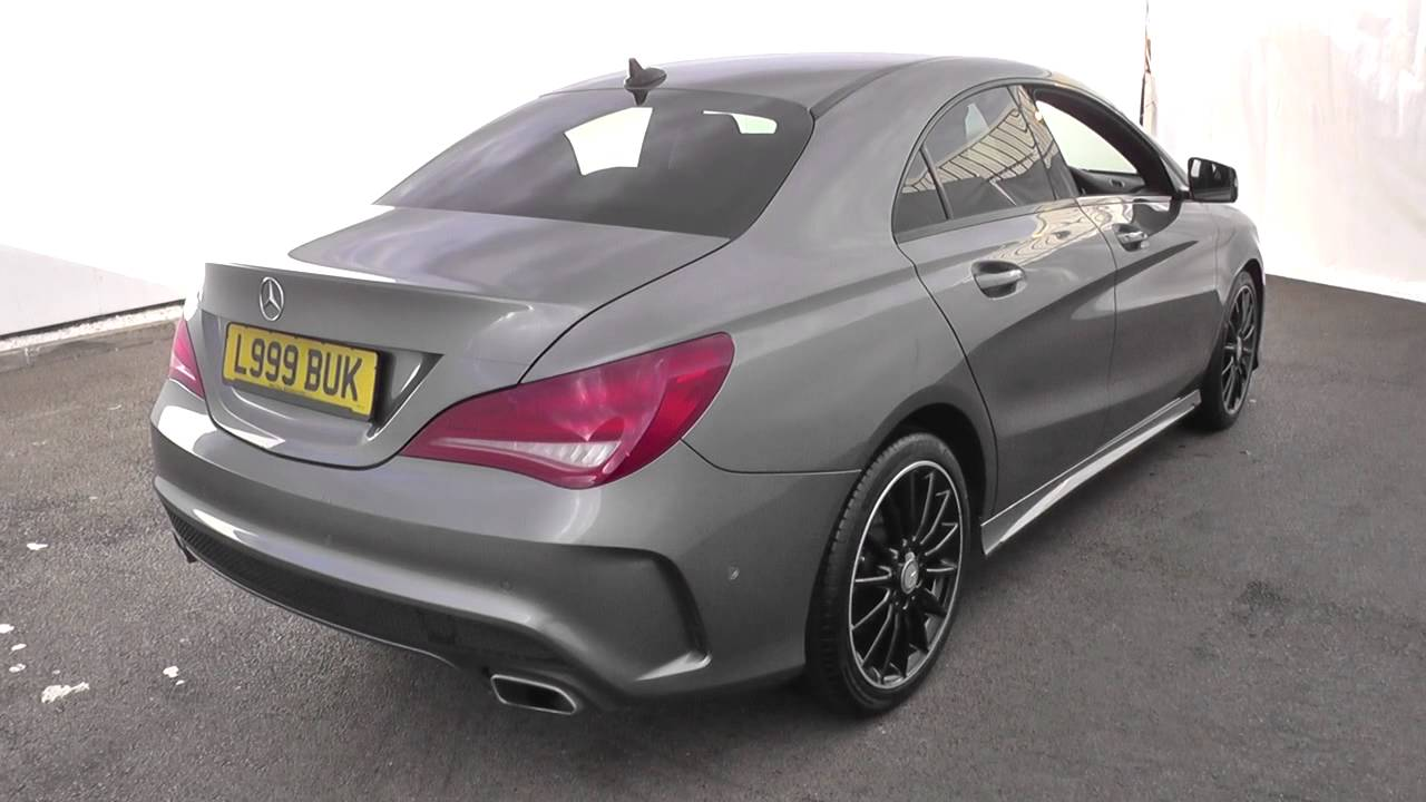 mercedes benz cla class cla 180 amg sport 4dr u15277 youtube. Black Bedroom Furniture Sets. Home Design Ideas
