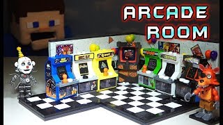 Download FNAF Arcade Room Classics MCFARLANE Toys DIY Mini Buildable Set! Five Nights at Freddy's 2 Wave 5 Mp3 and Videos