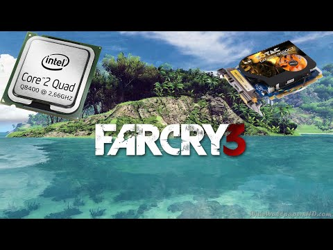 GT 9500 1GB + CORE2QUAD Q8400 VS FARCRY 3