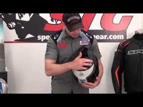 Shark Vision-R Helmet Review From SportbikeTrackGear.com