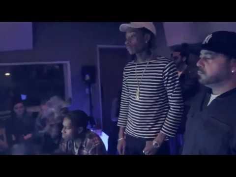 "A$AP Rocky & Wiz Khalifa recording ""Way Hii"""