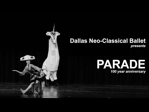 Dallas Neo-Classical Ballet - PARADE 100 year anniversary
