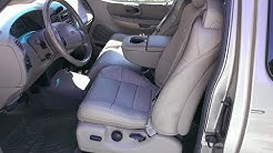 Leather F150 Ford 2001 Seats