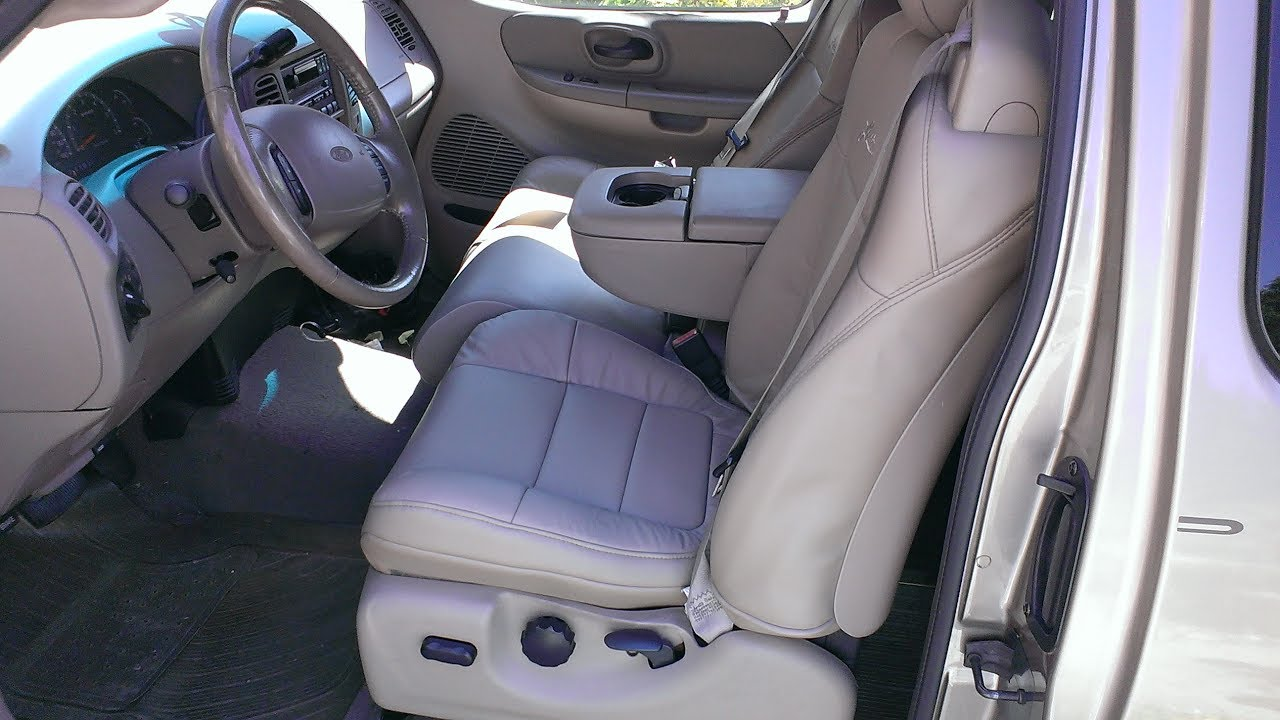 small resolution of ford 2001 f150 lariat driver seat cover replacement