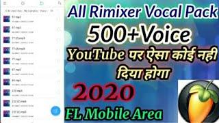 New Vocal,Voice Pack 2021 || 2021 New Popular Vocal Pack || Fl Studio Mobail Download || Best Vocals