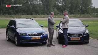 Skoda Octavia vs Volvo V40