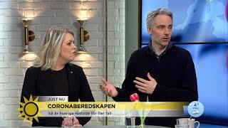 """Corona: """"Måste vara beredd på flera olika scenarier""""  - Nyhetsmorgon (TV4)"""