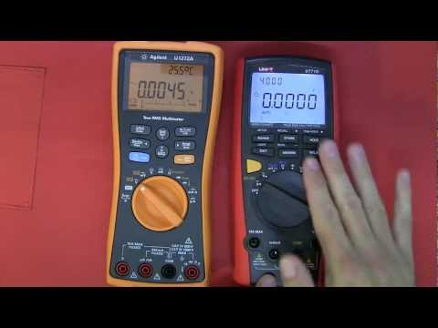 Multimeter Review /  buyers guide: Pt 1 - UNI-T UT71D