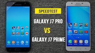 Speedtest - Samsung Galaxy J7 Pro vs Galaxy J7 Prime