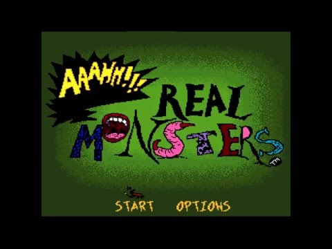 SNES Aaahh! Real Monsters Intro  HD