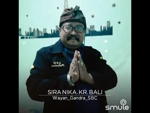 Agung Wirasutha..sira nika...cover by Wayan Gandra