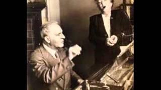 Bruno Walter reminisces... 1958!