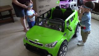 Kid Trax Kia Sing-A-Long Soul Unboxing