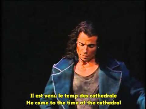 Le temps des cathédrales Notre Dame French English Lyrics