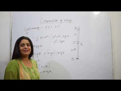 CONSERVATION OF ENERGY(WORK ENERGY AND POWER)CLASS 9 CHAPTER 11