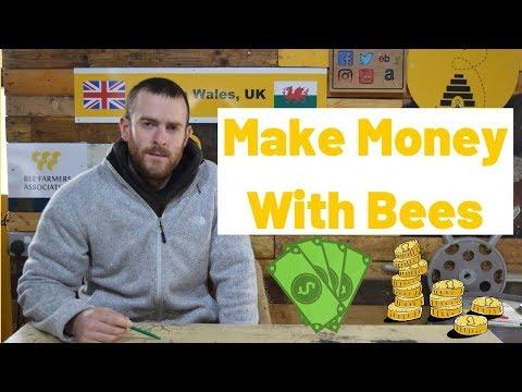 Make Money Beekeeping Keeping Bees