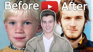 YouTubers Before And After 2016 (Plus Picture Of Me As A Kid)