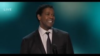 denzel washington speech