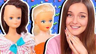 """МНЕ СТЫДНО😂Убитые """"барби"""" из ДЕТСТВА / Беременная кукла / Коллекция аналоговых кукол из 90-х, обзор"""